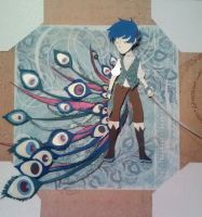 peacock papercraft by TiMeLoRd903