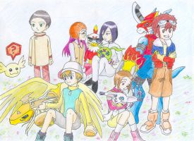 Digimon 02-Colored by Valaquia