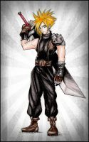 Cloud Strife by SpringSnowflakes