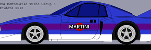 Lancia Beta Monte Carlo Group 5 Turbo Color 1 by rossriders