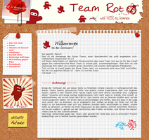 Site Design - Red Team by WayaYoshitaka