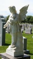 Mount Olivet Cemetery Angel 194 by Falln-Stock