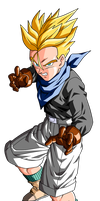 Trunks GT Super Saiyan by el-maky-z