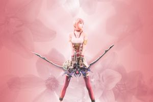 Serah Wallpaper 2 by ShinraWallpapers