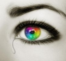 Rainbows Tears by Pernilles