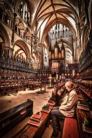 Lincoln Cathedral by KM4JEM