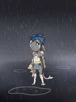 The sad.......Cry Rain by BajecznaMirra