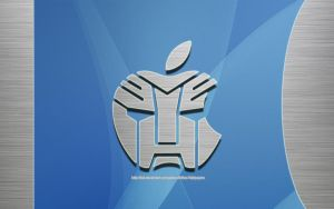 Apple Transformers - Wallpaper by iFab