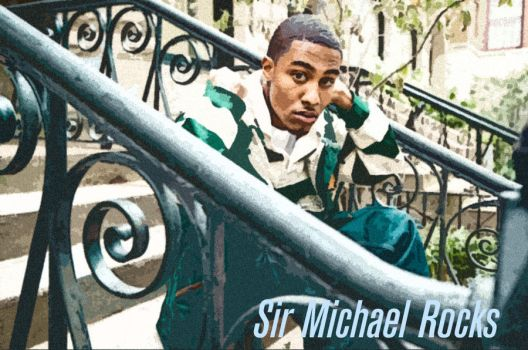 Sir Michael Rocks Chillin' by RdaVinci36