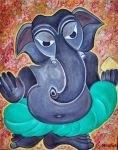 Dark Ganesha by manjulak