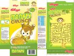 MONKEY CRUNCH Packaging by pinksighs
