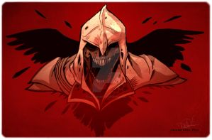 Assasin dead creed by juliodelrio