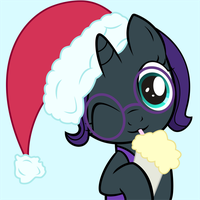 Merry Christmas from Nyx by DrakoDarker