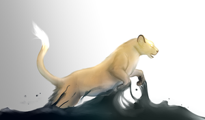 Lioness by IDKY-HannahFu