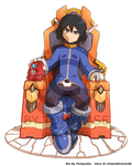 Commission : Zero on his Throne by Tomycase
