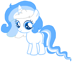 Melody as a filly by Ponyness1