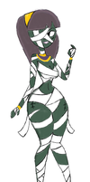 Emily The Mummy Girl (Colored Version) by InFAMOUS-Toons