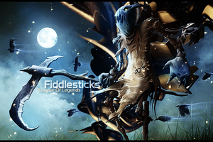 League Of Legends  -  Fiddlesticks by Arcaste