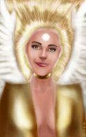Angel of Good Fortune by DarthMonter