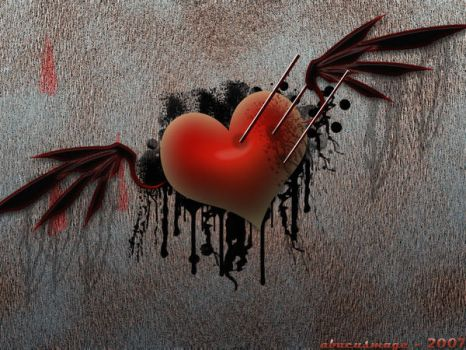Broken Heart by abacusmage