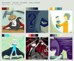 Color Meme- South Park by MESS-Anime-Artist