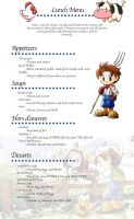Harvest Moon Menu by TMartens