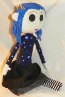 "Cloth Doll-""Other Me"" Coraline by mihijime"