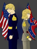 Hetalia: American Civil War by Wolf-Kid1000