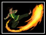 Korra practice by CuriouslyXinlove