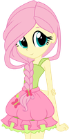 EQG Fluttershy Braided by Oathkeeper21