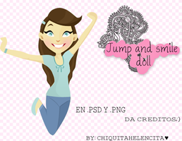 Jump Smile girl by ChiquitaHelencita