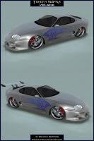 Toyota Supra - Veilside Kit by Snipehunter4