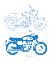 Silent motorcycle wip by 13ackup