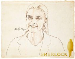 Molly Hooper by 403shiomi