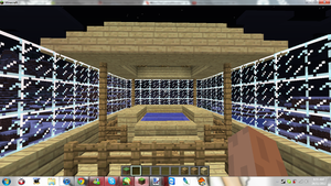 Minecraft My New Home ( The pool ) by MikaMori