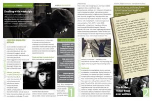 student newsletter by rohitpat2000