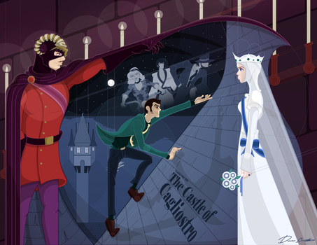Lupin the Third: Castle of Cagliostro by sir-rudolph