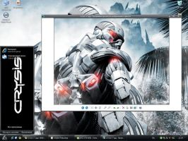 "theme "" Crysis"" for XP by tochpcru"