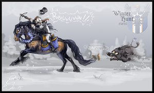 Farrosian Event [Winter Hunt] by BUGHS-22
