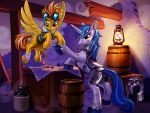 Future Captains of Equestria by harwicks-art