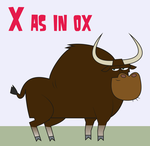 Total Drama Animal ABC - X as in Ox by Juliefan21