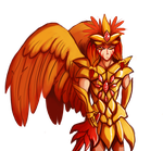 Red Winged Angel by AsTheMoonWaxes