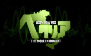Axis Powers: Hetalia titles in MW3 style (ver.2) by RavenZero-One