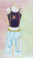 colored pencil drawing by zlyoga