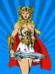 She-Ra by MatiasSoto -Coloured by haydenyale