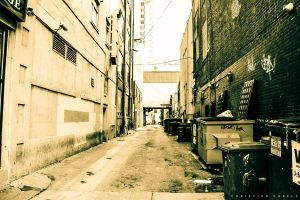 Alley in Toronto by gabolos