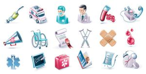 Vector Medical Icons set by FreeIconsdownload