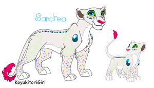 Sandrea by KawaiiAdopts17