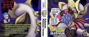 Pokemon Platinum Replacement Cover by Plus5Pencil
