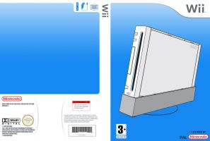 Wii cover template 600dpi by BlotarenSS